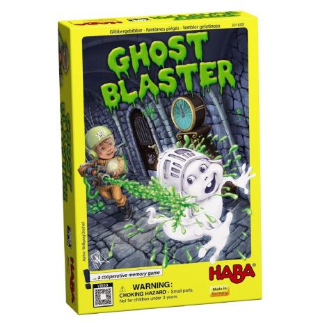 GHOST BLASTER GAME OF COOPERATION AND MEMORY