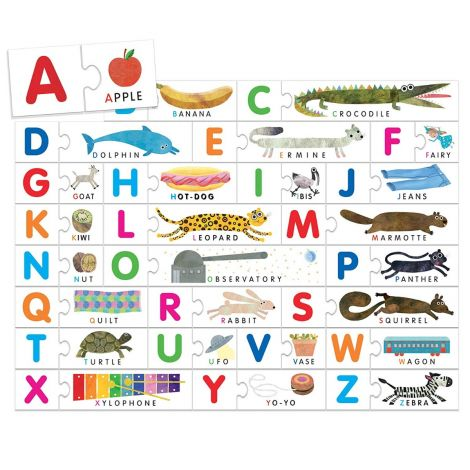 MONTESSORI PUZZLE: TOUCH ABC