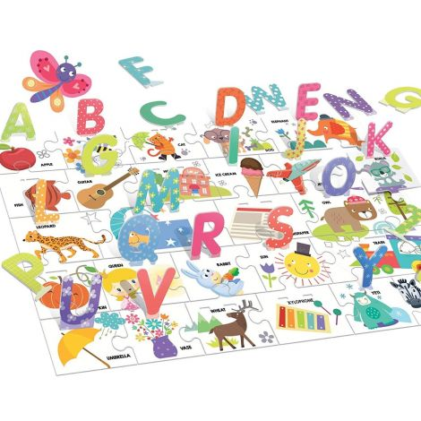 MONTESSORI PUZZLE: 3D ALPHABET (26PC)