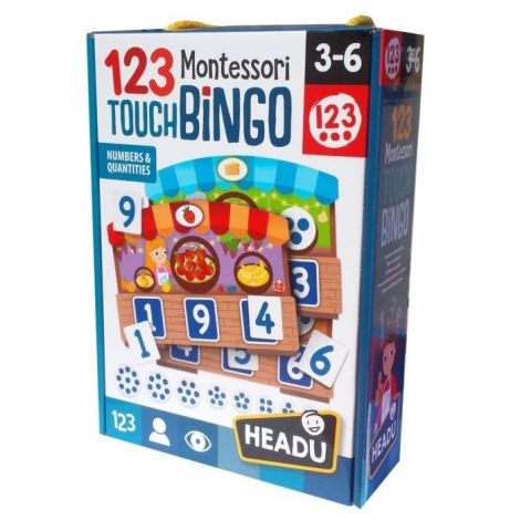 MONTESSORI TOUCH BINGO: NUMBERS