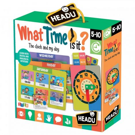 TELLING TIME PUZZLE GAME: WHAT TIME IS IT?