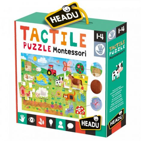 MONTESSORI TACTILE JIGAW PUZZLE (21PC)