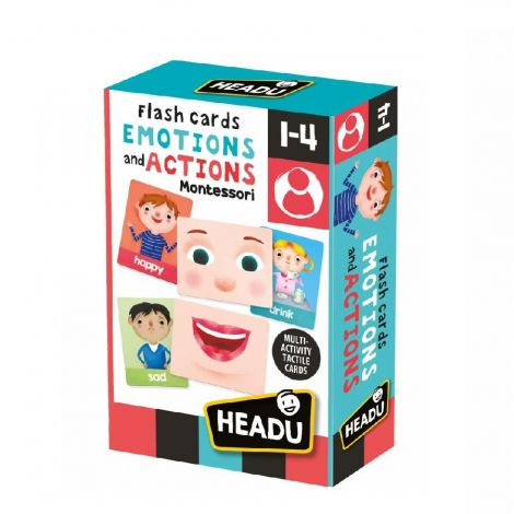 MONTESSORI EMOTIONS AND ACTIONS FLASHCARDS