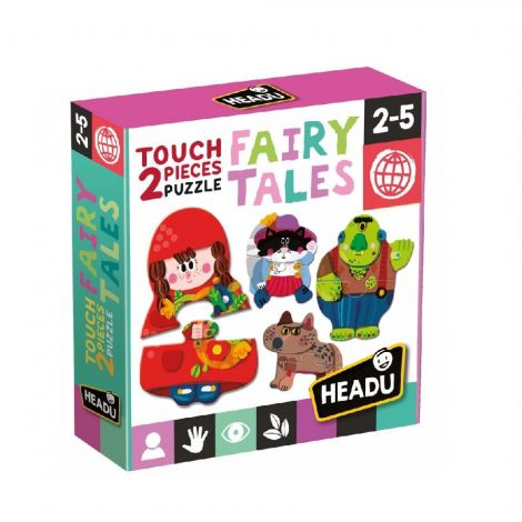 TOUCH 2PC PUZZLES: FAIRY TALES