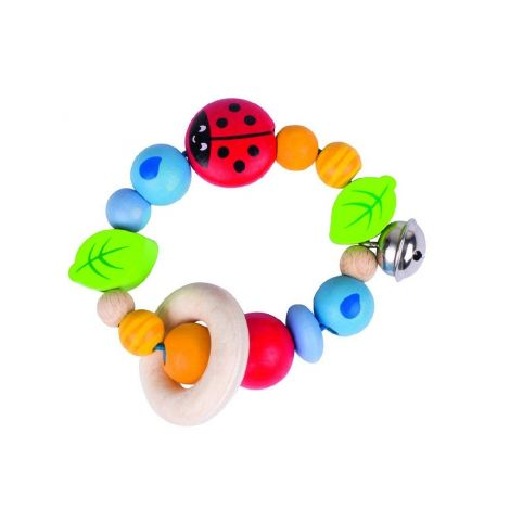 LADYBIRD RING RATTLE