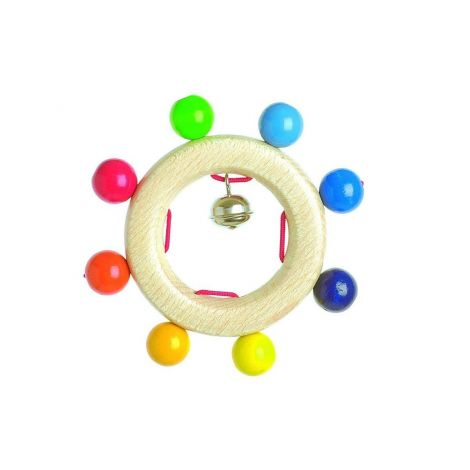 RAINBOW PEARLS TOUCH RING