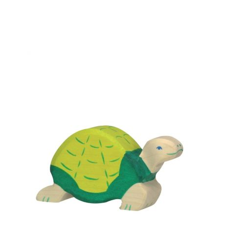 TURTLE WOODEN FIGURINE