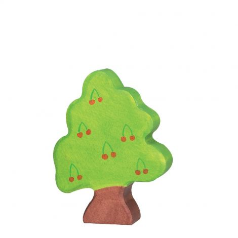 CHERRY TREE WOODEN FIGURINE (SMALL)