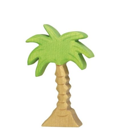 PALM TREE WOODEN FIGURINE (MEDIUM)