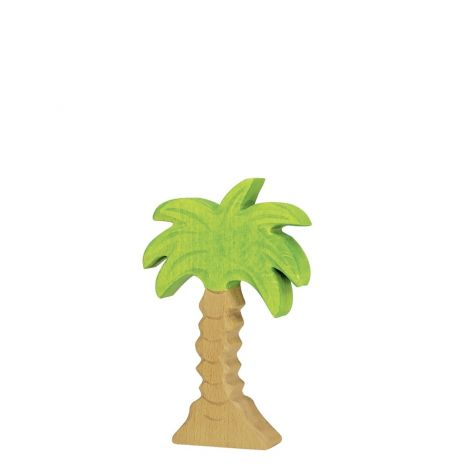 PALM TREE WOODEN FIGURINE (SMALL)