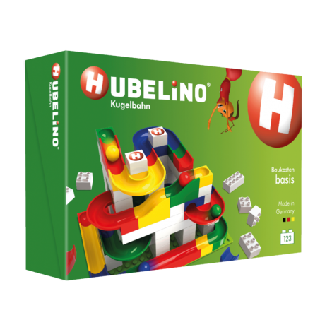 HUBELINO 123PC BASIC BUILDING BOX