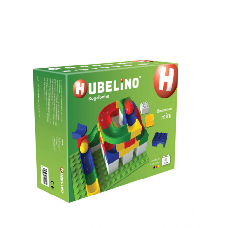 HUBELINO MARBLE RUN: 45PC MINI CONSTRUCTION SET