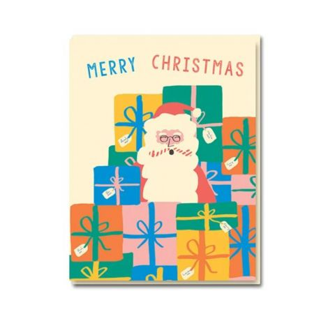 SANTA HOLIDAY GREETING CARDS, BY EMMA COOTER (BOX OF 8)