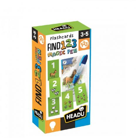 MAGIC PEN FLASHCARDS: FIND & COUNT 1, 2, 3
