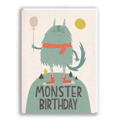 MONSTER BIRTHDAY, BY PAPER & CLOTH