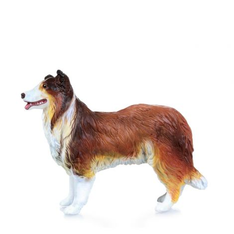 COLLIE DOG FIGURINE
