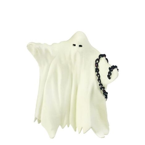 GLOW-IN-THE-DARK GHOST FIGURINE