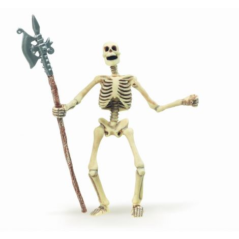 GLOW-IN-THE-DARK SKELETON FIGURINE