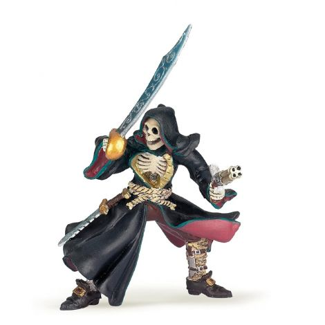 SKULL HEAD MUTANT PIRATE FIGURINE