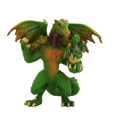 DRAGON OF THE FOREST FIGURINE