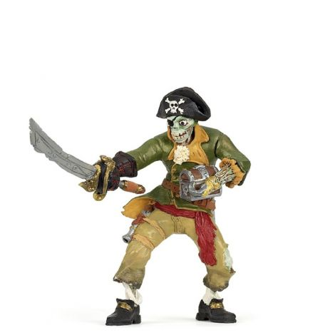 ZOMBIE MUTANT PIRATE FIGURINE