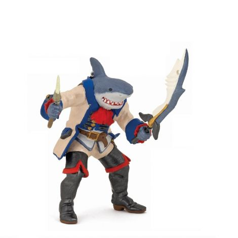 SHARK MUTANT PIRATE FIGURINE