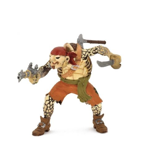 TURTLE MUTANT PIRATE FIGURINE