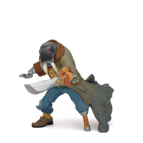 WALRUS MUTANT PIRATE FIGURINE