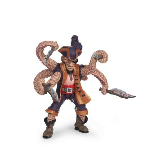 OCTOPUS MUTANT PIRATE FIGURINE