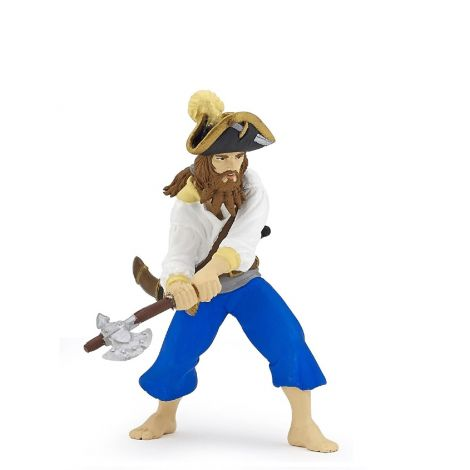 CORSAIR WITH AXE PIRATE FIGURINE