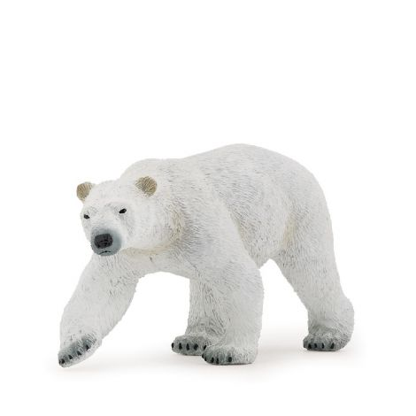 WALKING POLAR BEAR FIGURINE