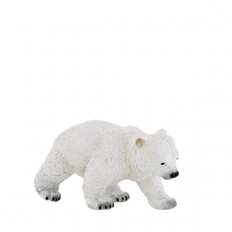 WALKING POLAR BEAR CUB FIGURINE