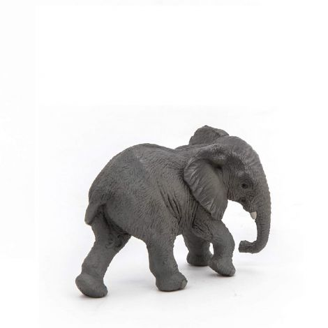 YOUNG AFRICAN ELEPHANT FIGURINE