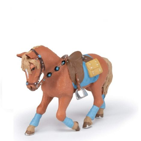 YOUNG RIDER'S HORSE FIGURINE
