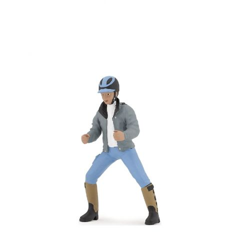YOUNG RIDER FIGURINE