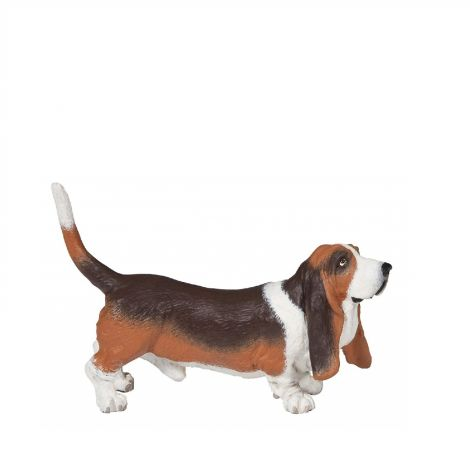 BASSET HOUND DOG FIGURINE
