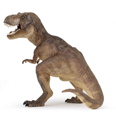 BROWN T-REX FIGURINE