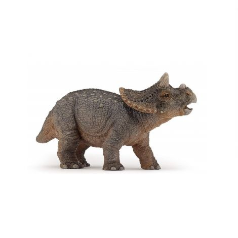 YOUNG TRICERATOPS DINOSAUR FIGURINE