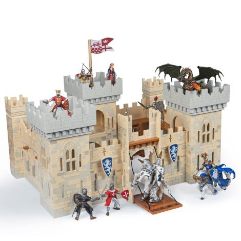 WOODEN WEAPON MASTER KNIGHT'S CASTLE