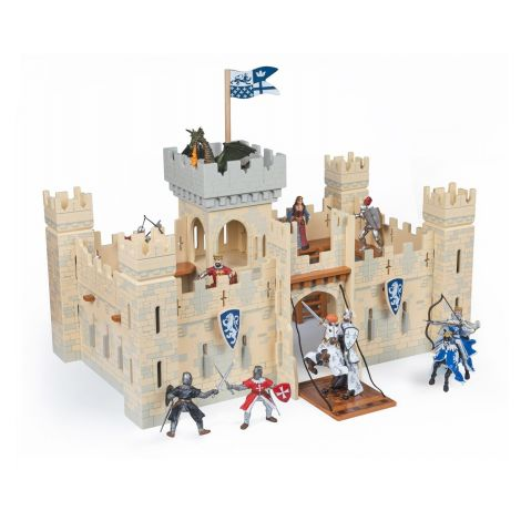 WOODEN KNIGHT'S CASTLE