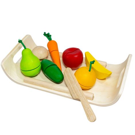 ASSORTED FRUIT & VEGETABLE CUTTING SET