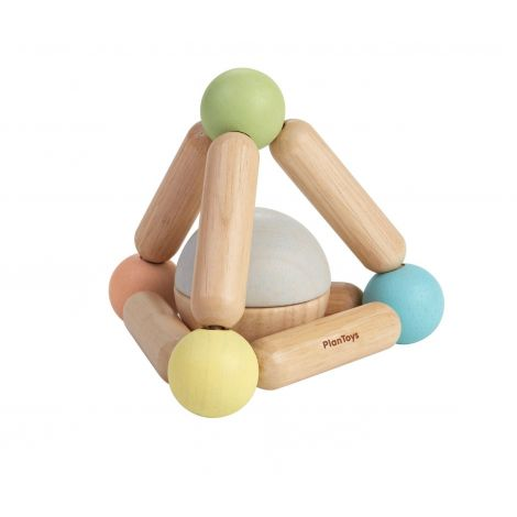 PASTEL TRIANGLE CLUTCHING TOY