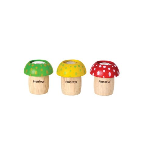 MUSHROOM KALEIDOSCOPES SET OF 3