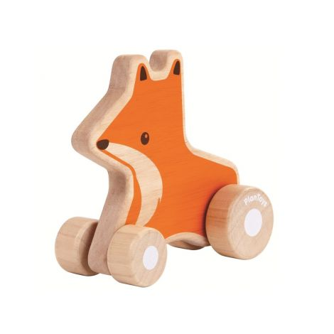 FOX WHEELIE PUSH TOY