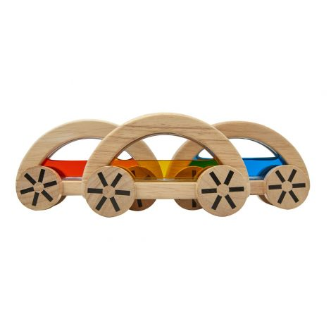 WATER BLOCK PUSH CARS SET OF 3