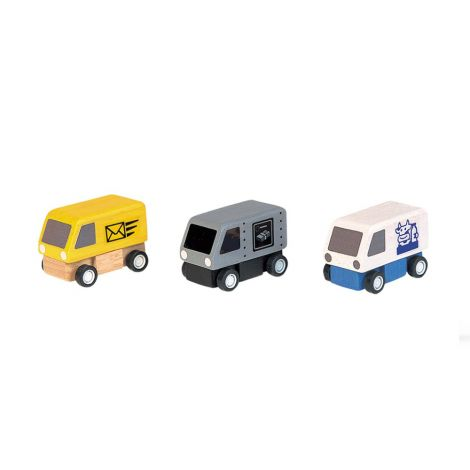 PLANWORLD™ SET OF 3 DELIVERY VANS