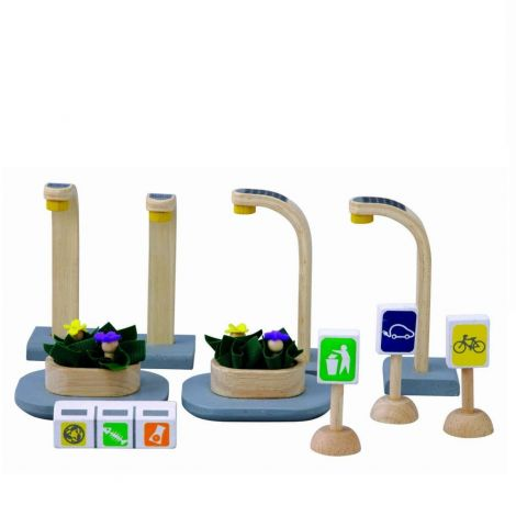 PLANWORLD™ ECO STREET ACCESSORIES SET