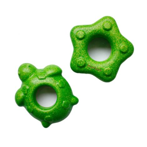 EARTH DAY 2020: SET OF TURTLE & STARFISH MAGNIFIERS (GREEN)