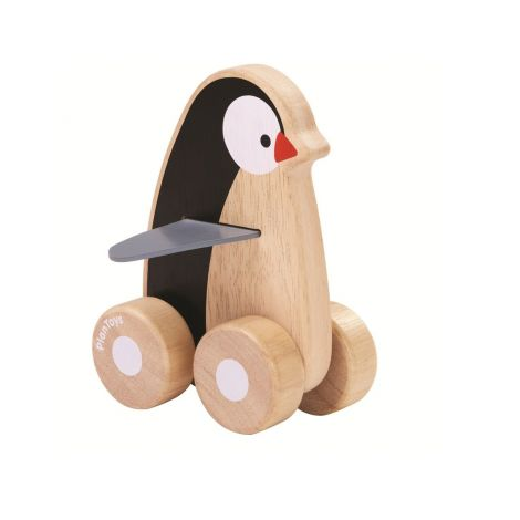 PENGUIN WHEELIE PUSH TOY