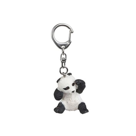 PLAYING BABY PANDA KEY RING